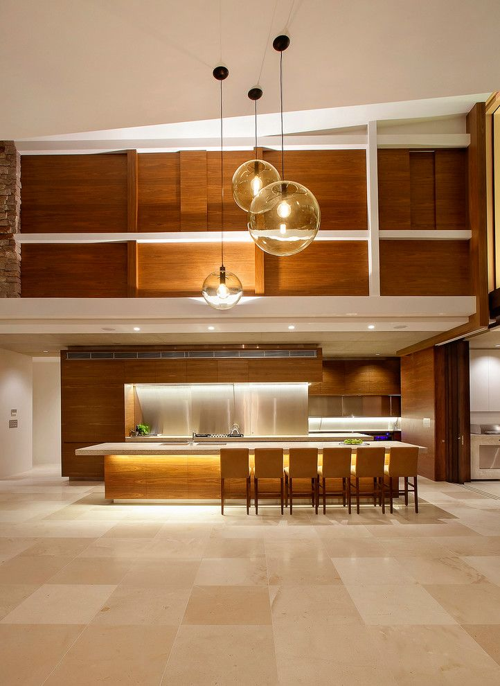 Sightline for a Contemporary Kitchen with a Sunshine Coast and Mooloolah by Mixed Element