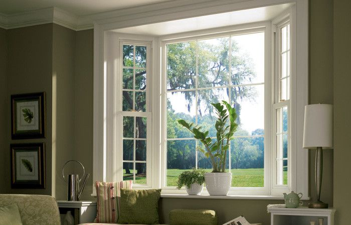 Simonton for a Contemporary Spaces with a Bow Windows and Windows by Columbus Windows and Siding