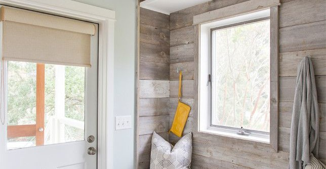 Skim Coat Walls for a Beach Style Entry with a Beach and Old Village Remodel by Matthew Bolt Graphic Design