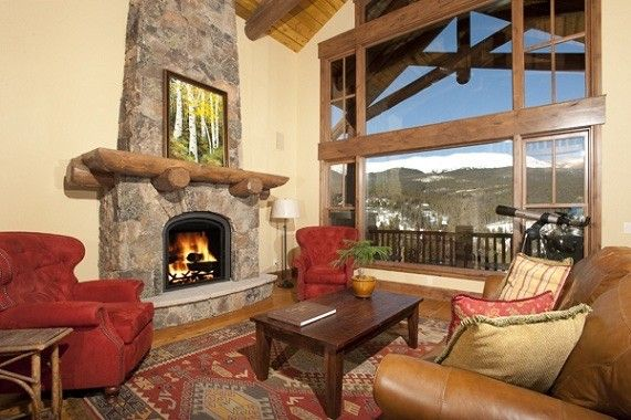 Slifer Smith and Frampton for a Rustic Living Room with a Rustic and Luxury Mountain Homes by Joan Moats   Slifer Smith & Frampton Real Estate