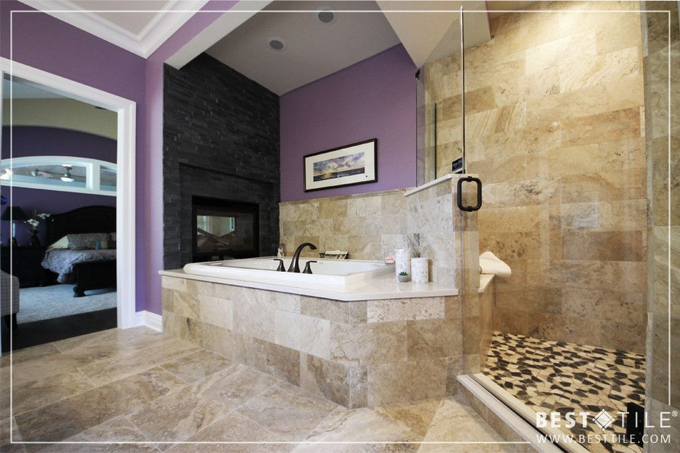 Sloat Garden Center for a Traditional Bathroom with a Cabinets and Parade of Homes by Best Tile