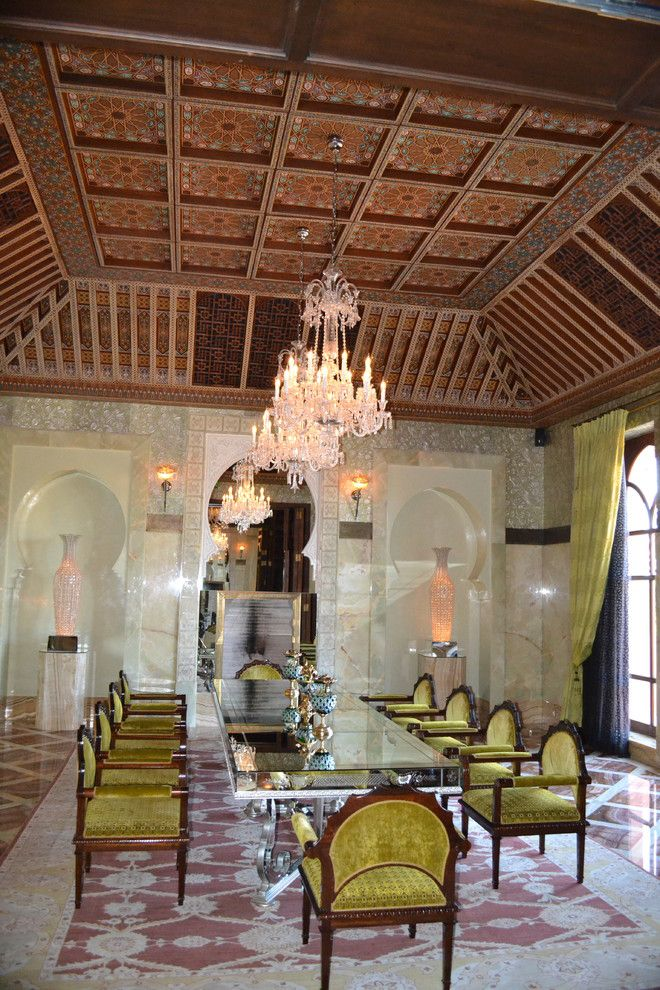 Sls Hotel Miami for a  Spaces with a  and Royal Mansour Marrakesh by Obm International