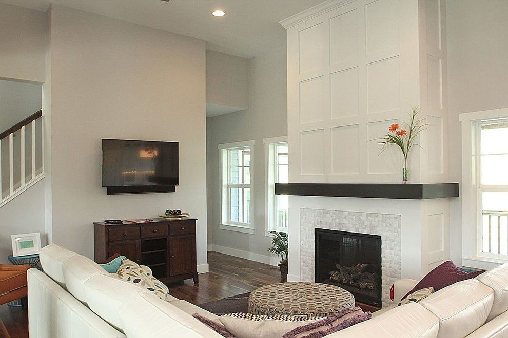 Slumberland Iowa City for a Modern Living Room with a White and Cardinal Ridge, Iowa City, Ia by the Mansion