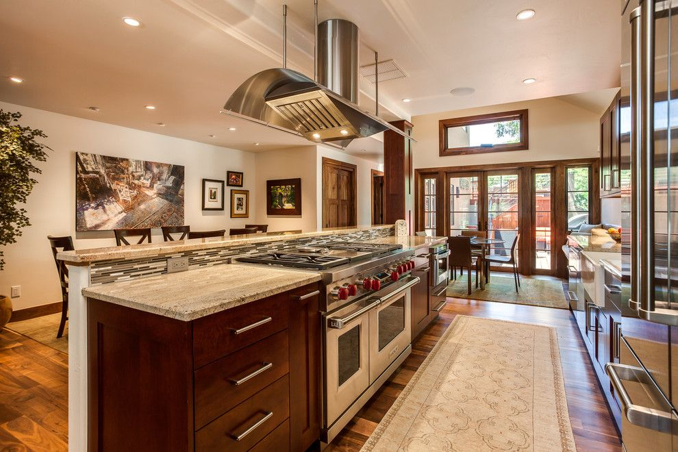Sonata at Cherry Creek for a Transitional Kitchen with a Denver Colorado and Cherry Creek Kitchen Renovation Cherry Cabinets by Jm Kitchen & Bath