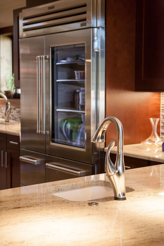 Sonata at Cherry Creek for a Transitional Kitchen with a Kitchen Remodel and Cherry Creek Kitchen Renovation Cherry Cabinets by Jm Kitchen & Bath