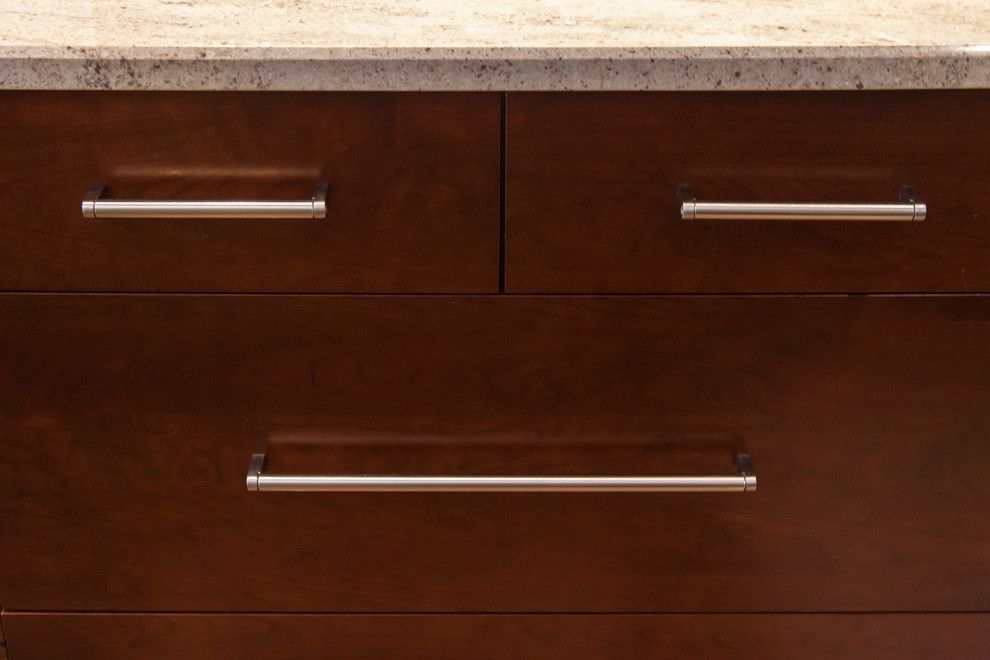 Sonata at Cherry Creek for a Transitional Spaces with a Kitchen Renovation and Cherry Creek Kitchen Renovation Cherry Cabinets by Jm Kitchen & Bath
