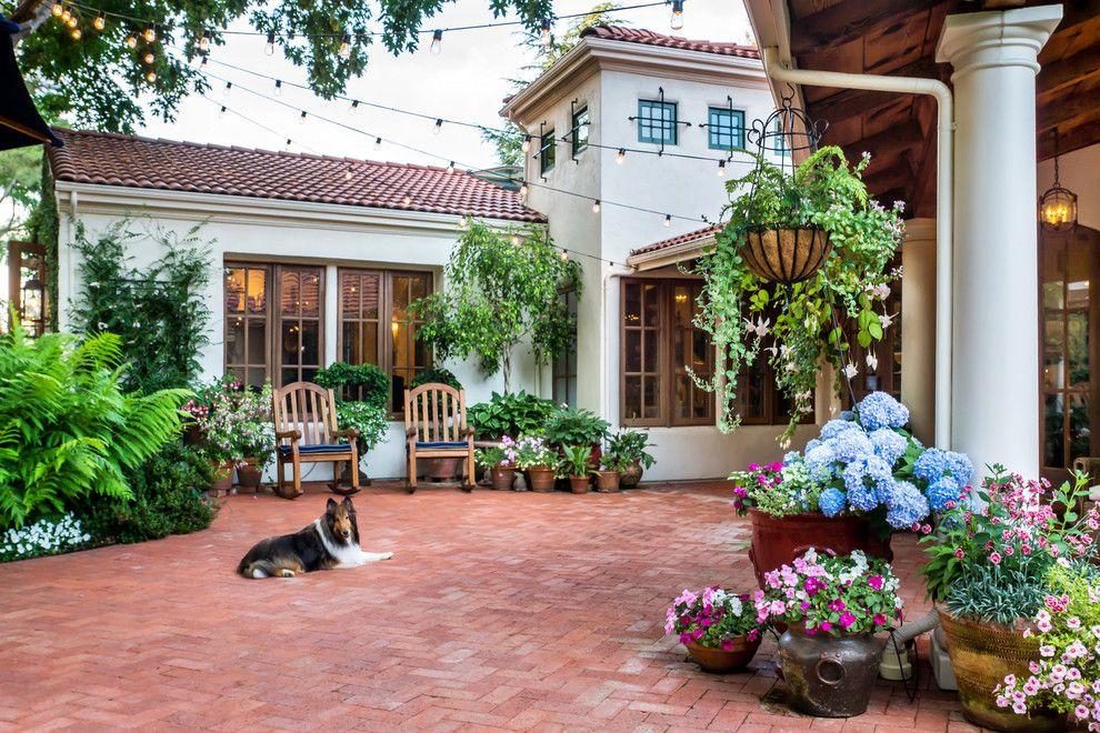 Sonos Santa Barbara for a Mediterranean Patio with a Old World and Casa Smith's California Garden by Casa Smith Designs, Llc