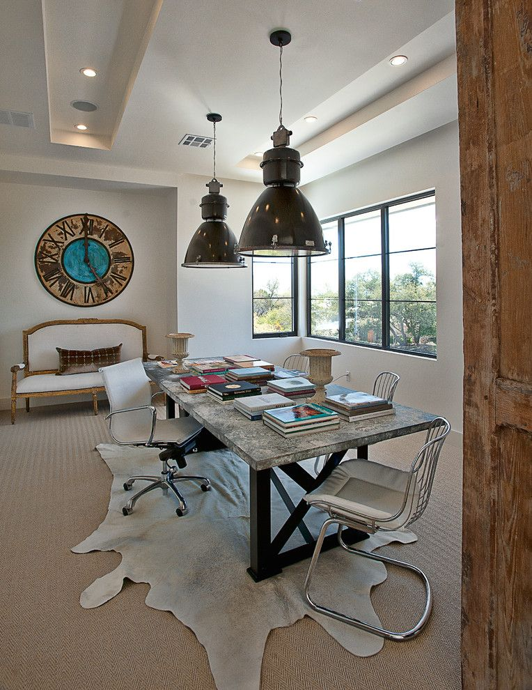 South Texas Center for Pediatric Care for a Transitional Home Office with a Wall Decor and Cat Mountain Residence by Cornerstone Architects