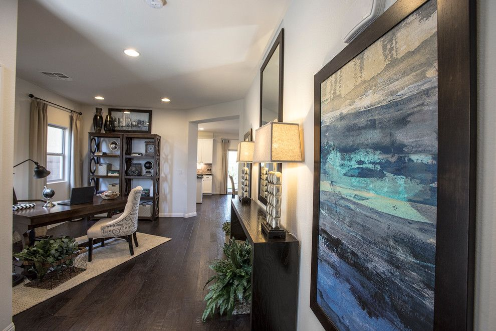 Spanish Trails Las Vegas for a Contemporary Spaces with a Contemporary and Dr – Spanish Ranch Creek   2260 by Design Source Interiors Las Vegas
