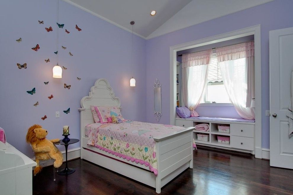 Spca New Orleans for a Traditional Kids with a Purple Bedroom and West University New Orleans by Brickmoon Design