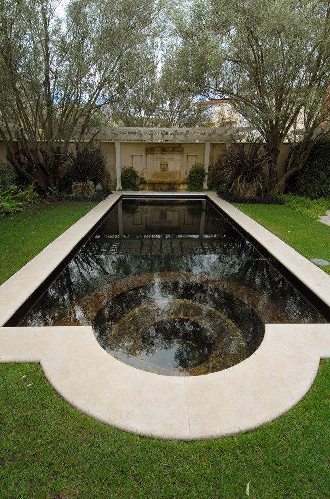 Spca New Orleans for a Traditional Pool with a Lawn and Marina Residence by Sutton Suzuki Architects