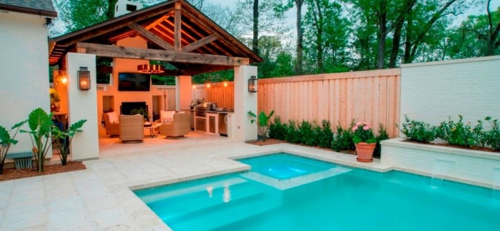Splash Baton Rouge for a  Spaces with a Kitchen Remodeling Baton Rouge and Outdoor Kitchen by Bernhard Normand
