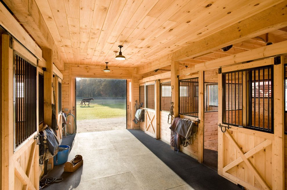 Spring Cleaning Checklist for a Farmhouse Shed with a Pasture and Equestrian Estate by Windover Construction