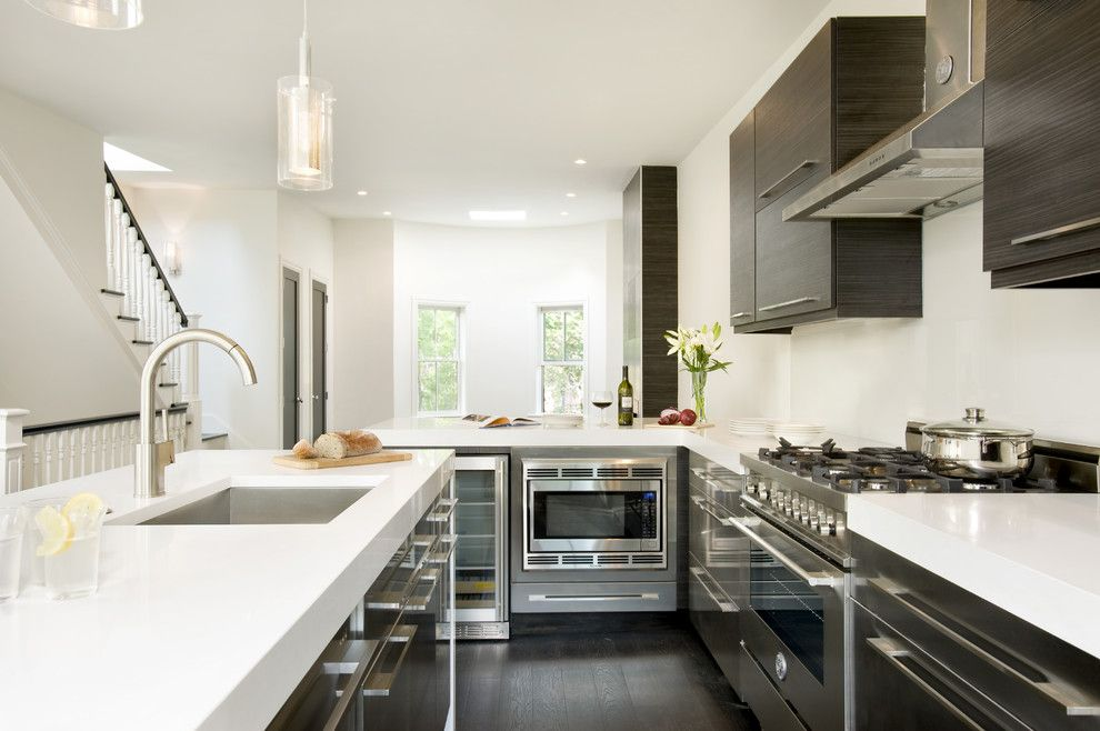 Spring Cleaning Checklist for a Modern Kitchen with a Stainless Steel Appliances and Claremont Park by Melissa Miranda Interior Design