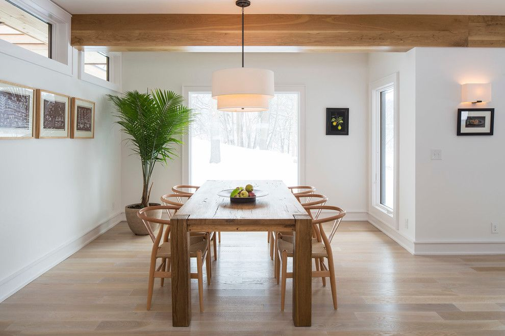 St Croix Theater for a Contemporary Dining Room with a Large Window and Marine on St. Croix by Cates Fine Homes
