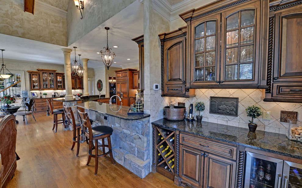 St Marlo Country Club for a Mediterranean Kitchen with a St Marlo and St. Marlo Golf & Country Club Custom Homes by Envision Web