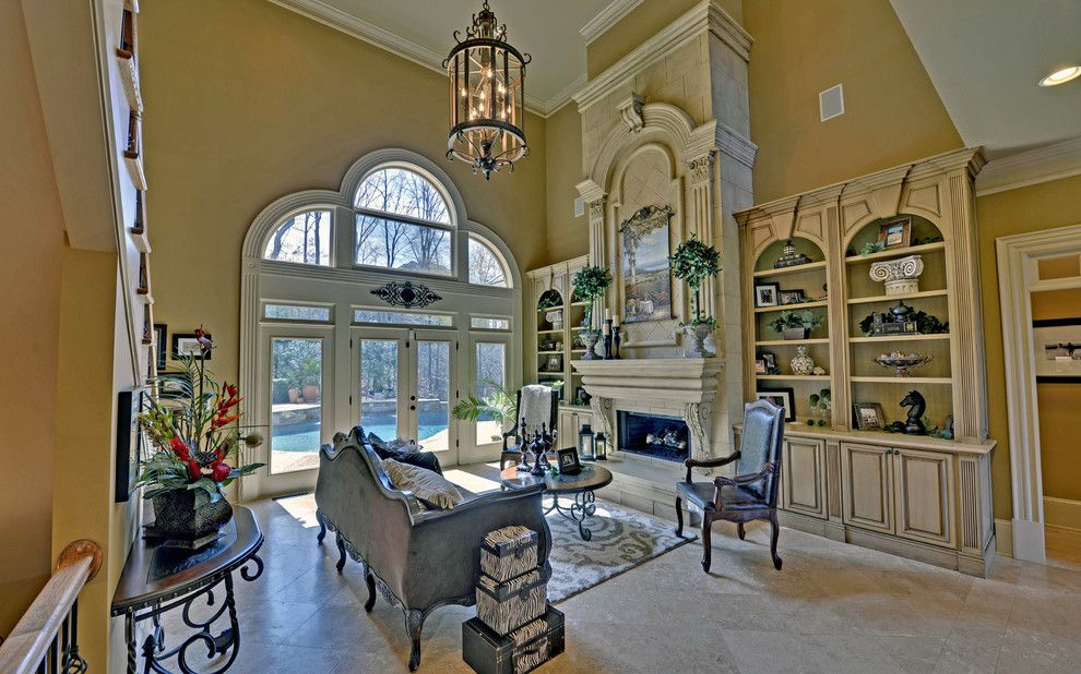 St Marlo Country Club for a Mediterranean Living Room with a Country Club and St. Marlo Golf & Country Club Custom Homes by Envision Web