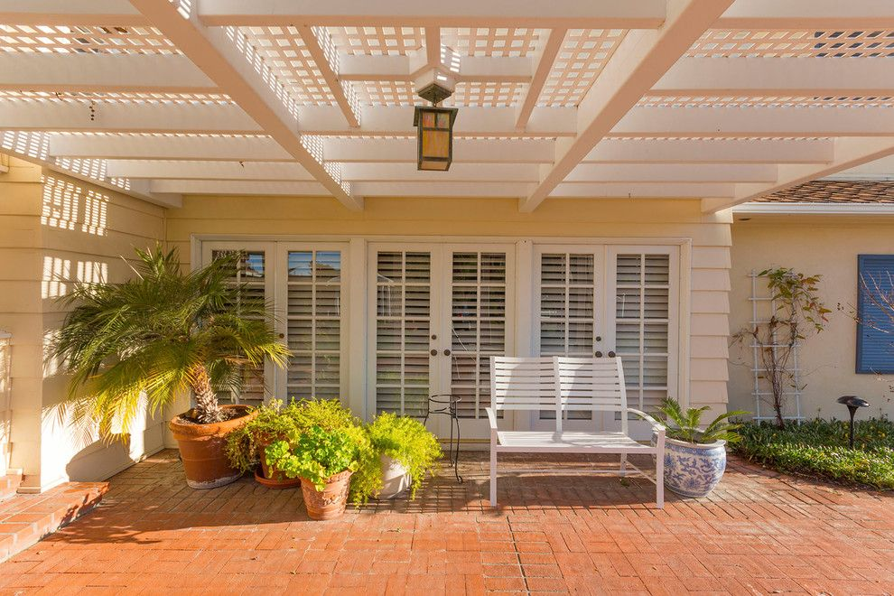 St Peters Olney for a Traditional Patio with a Patio Trellis and Citrus Ranch Property One by Peter D'aprix Photography
