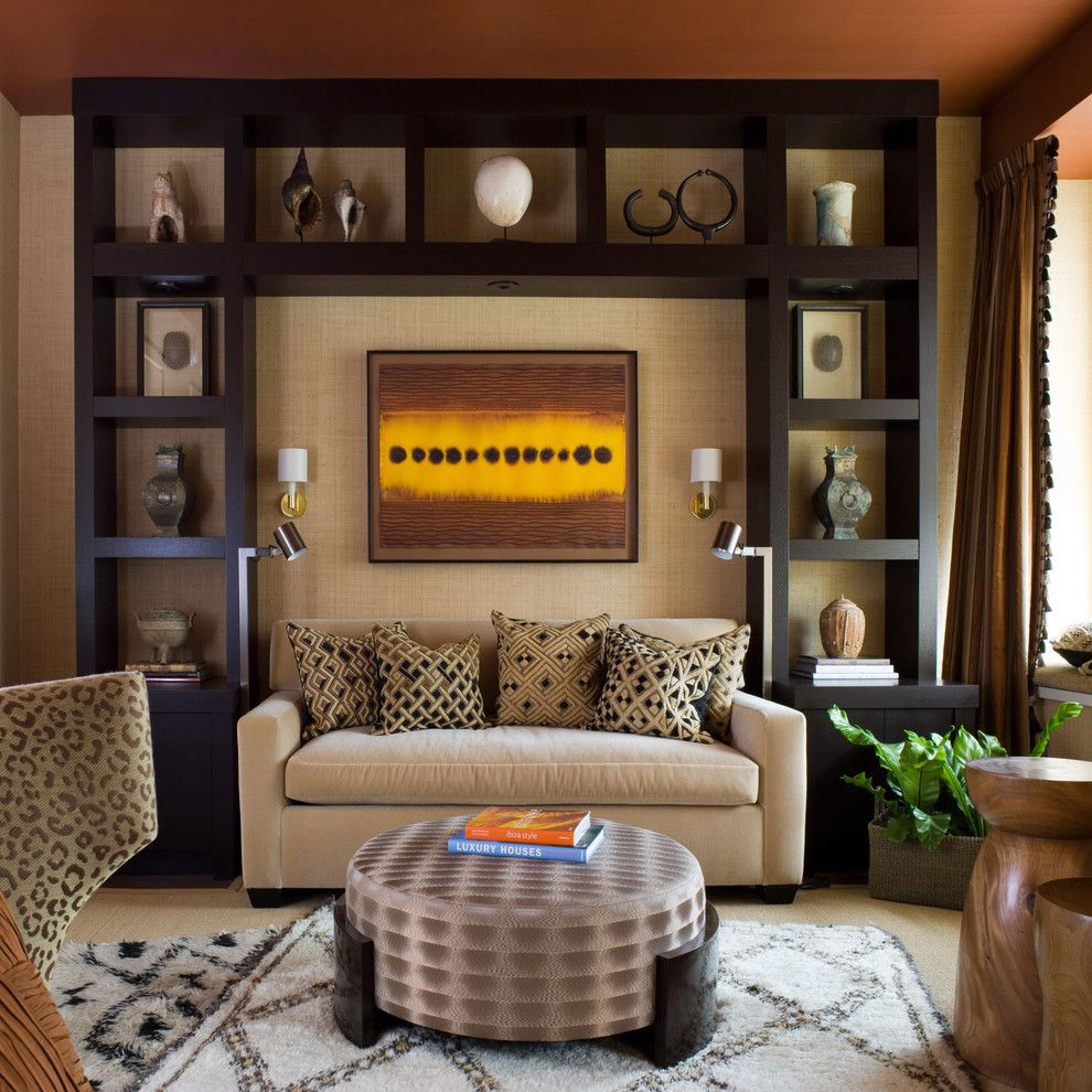 St Regis Sf for a Contemporary Living Room with a Decorative Pillows and St. Regis Sf High Rise by Kendall Wilkinson Design