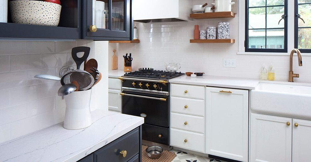 Standard Plumbing Utah for a  Kitchen with a Countertop and Wit & Delight Renovation by Cambria