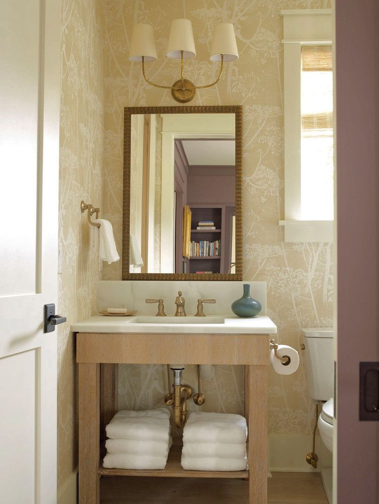 Standard Plumbing Utah for a Transitional Bathroom with a White Trim and Updated Classics:  Today's Traditional Design by Historical Concepts