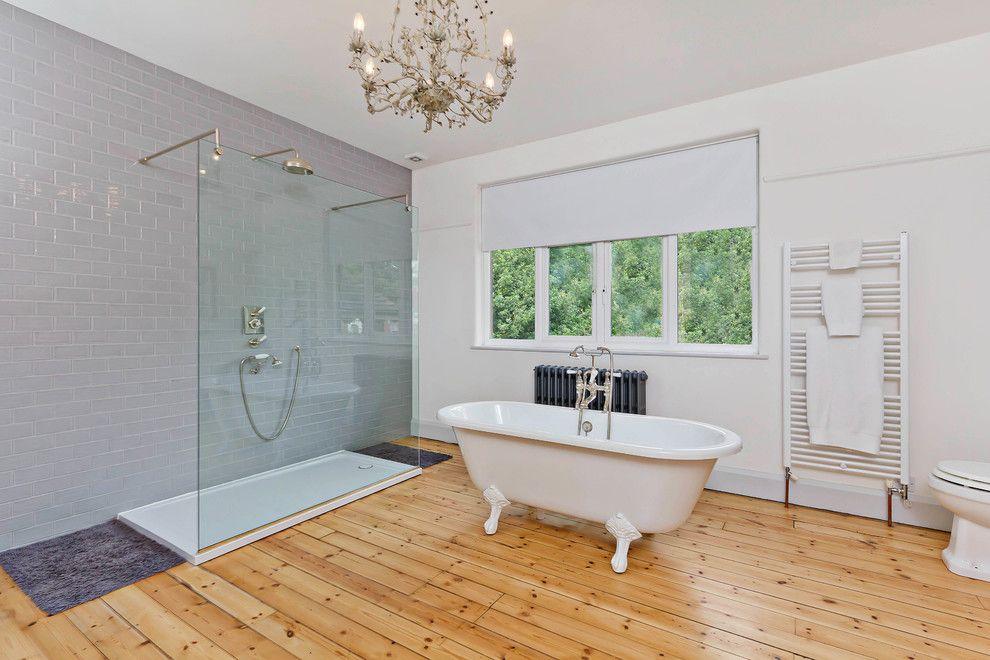 Steam Room vs Sauna for a Contemporary Bathroom with a Bathroom and Modern Interiors by Neil Mac Photo