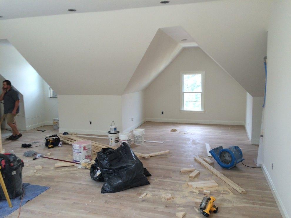 Steamist for a Modern Spaces with a Steam Room and Attic Retreat by Catalyst Construction Services Inc