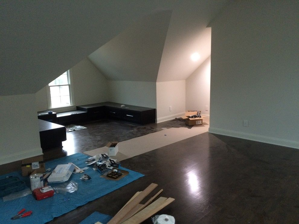 Steamist for a Modern Spaces with a Steamist and Attic Retreat by Catalyst Construction Services Inc