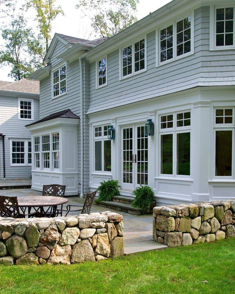 Stiles Construction for a Traditional Exterior with a Bay Window and Huestis Tucker Architects, Llc by Huestis Tucker Architects, Llc