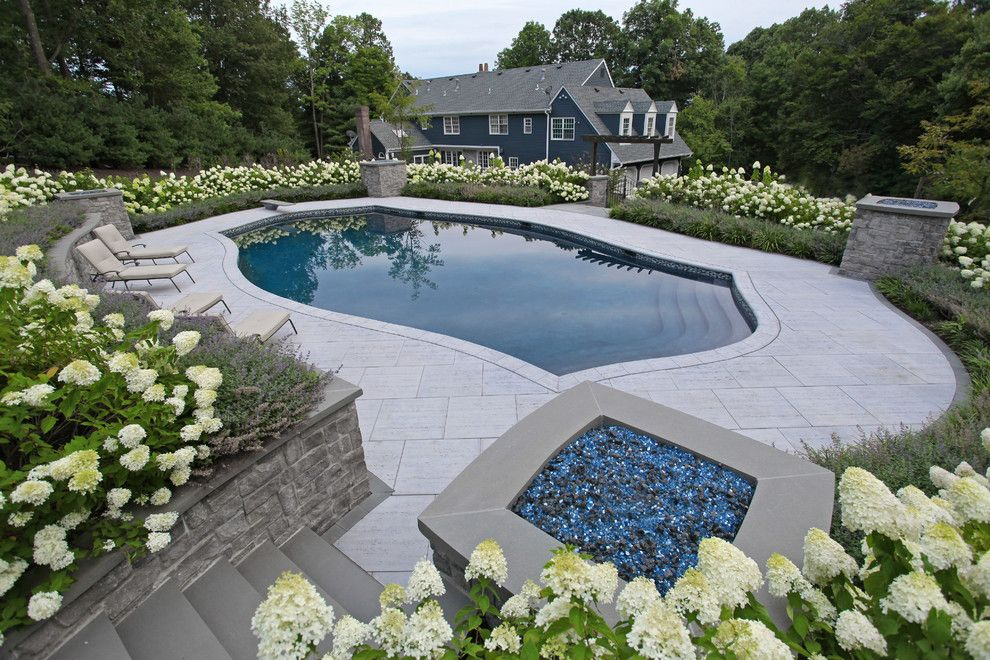 Stillwaters Resort for a Eclectic Pool with a Nj Luxtury Pool Designer New Jersey and Chester New Jersey | Custom Pool Design by the Pool Artist | Brian T. Stratton