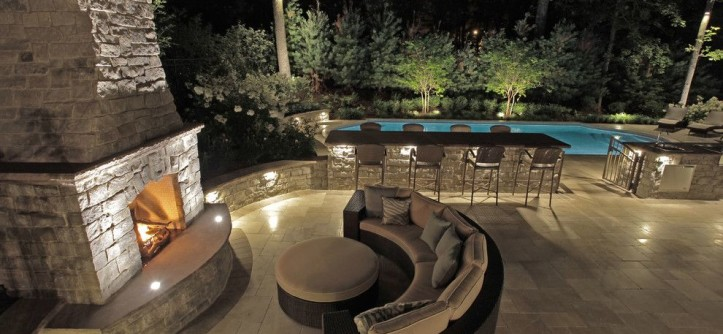 Stillwaters Resort for a Transitional Pool with a Mendham Borough and Custom Pool Design | Berkeley Heights NJ  New Jersey by the Pool Artist | Brian T. Stratton