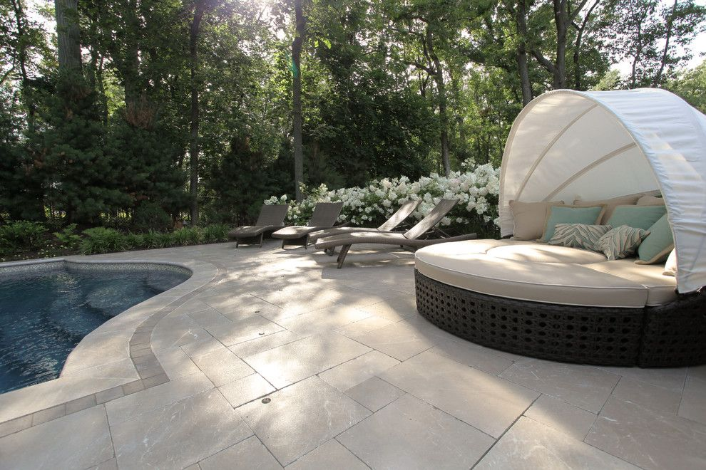 Stillwaters Resort for a Transitional Pool with a Mount Olive and Greenwich Ct Pool Design by the Pool Artist | Brian T. Stratton