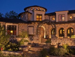 Sto Stucco for a Mediterranean Exterior with a Path and Tuscan Exterior by Deep River Partners
