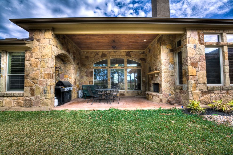 Suddenlink Georgetown Tx for a Traditional Patio with a Traditional and 401 4t Ranch Georgetown, Tx by Jeff Watson Homes, Inc.