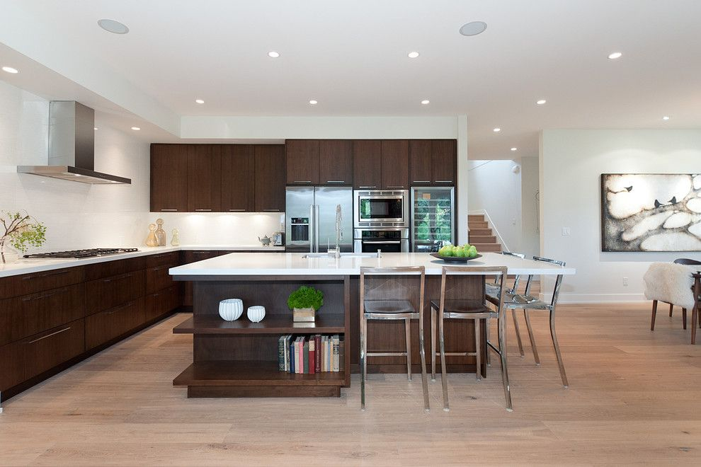 Sullivans Island Sc for a Contemporary Kitchen with a Kitchen Island and Lloyd Avenue Residence by Erica Winterfield Design
