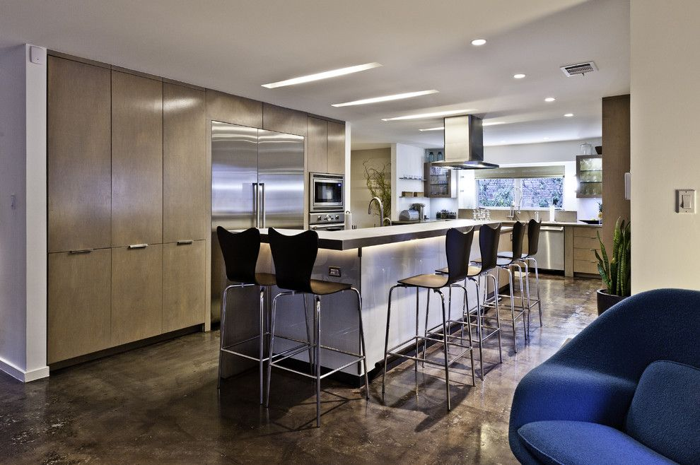 Sullivans Island Sc for a Contemporary Kitchen with a Range Hood and Kitchen by Rd Architecture, Llc