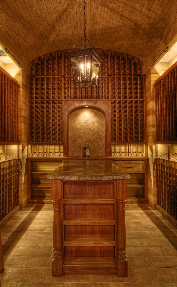 Sullivans Island Sc for a Victorian Wine Cellar with a Lake Home and Gabriel Builders by Gabriel Builders Inc.