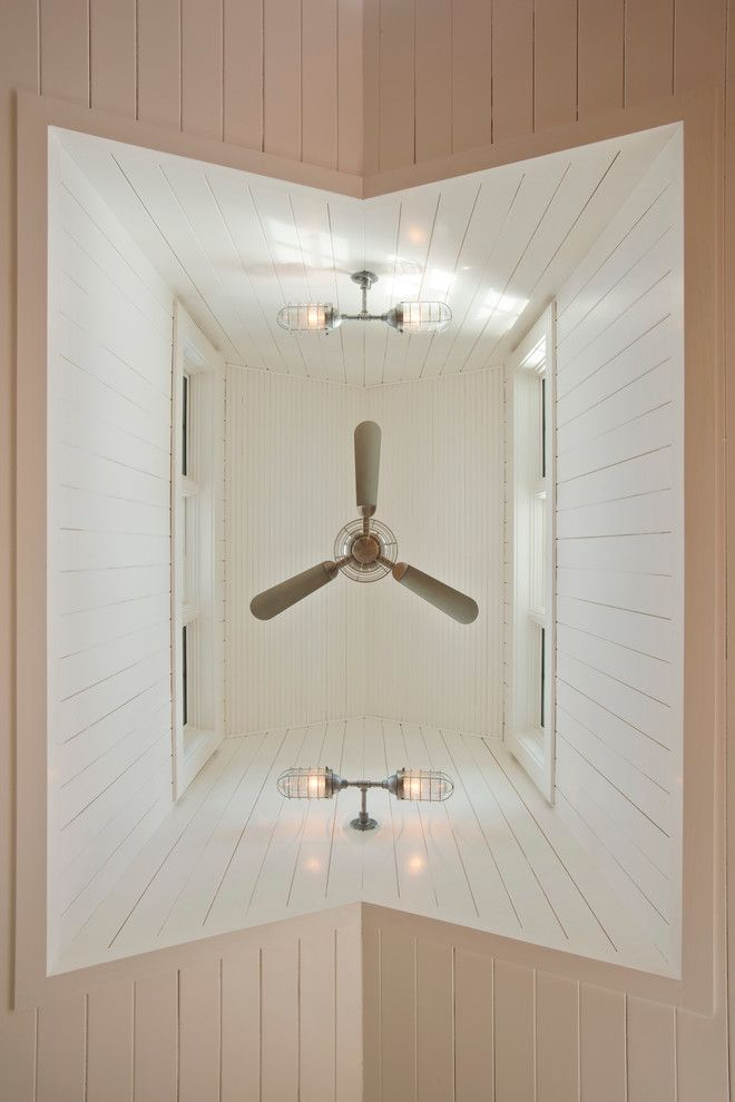 Summers Heating and Cooling for a Farmhouse Spaces with a Passive Heat and Leed Platinum Home by Phinney Design Group