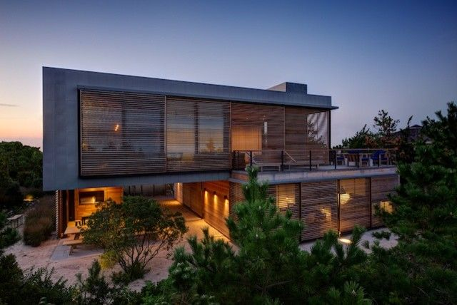 Summers Heating and Cooling for a Modern Exterior with a Modern Beach House and Shore House by Stelle Lomont Rouhani Architects
