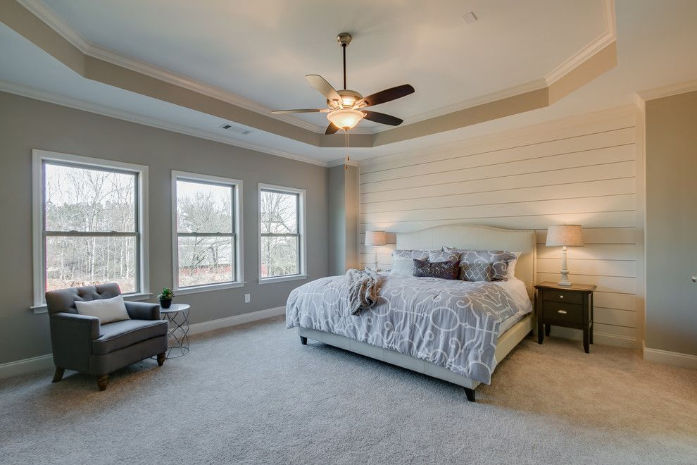 Summit Pointe for a  Bedroom with a Model Home and Summit Point Model (Johns Creek, Georgia) by Fynhome Staging & Redesign
