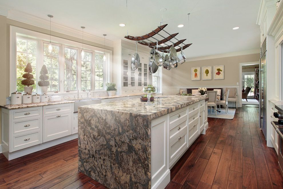 Summit Pointe for a Transitional Spaces with a Cambria Quartz and Langdon From Cambria's Coastal Collection by Cambria