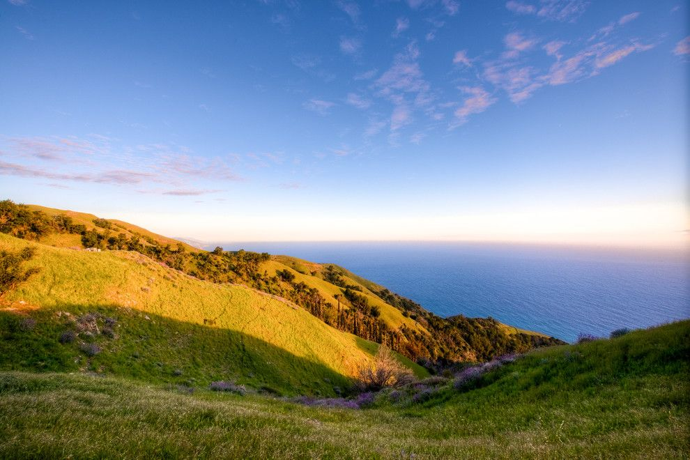 Sun Realty Nc for a Mediterranean Landscape with a Coastal Home and Big Sur Coast Ridge Estate by Decker Bullock Sotheby's International Realty