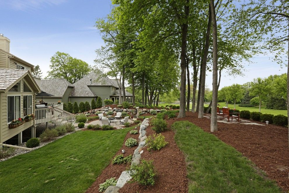 Sun Realty Nc for a Traditional Landscape with a Traditional and 9433 Olympia Drive by the Barkleys Edina Realty