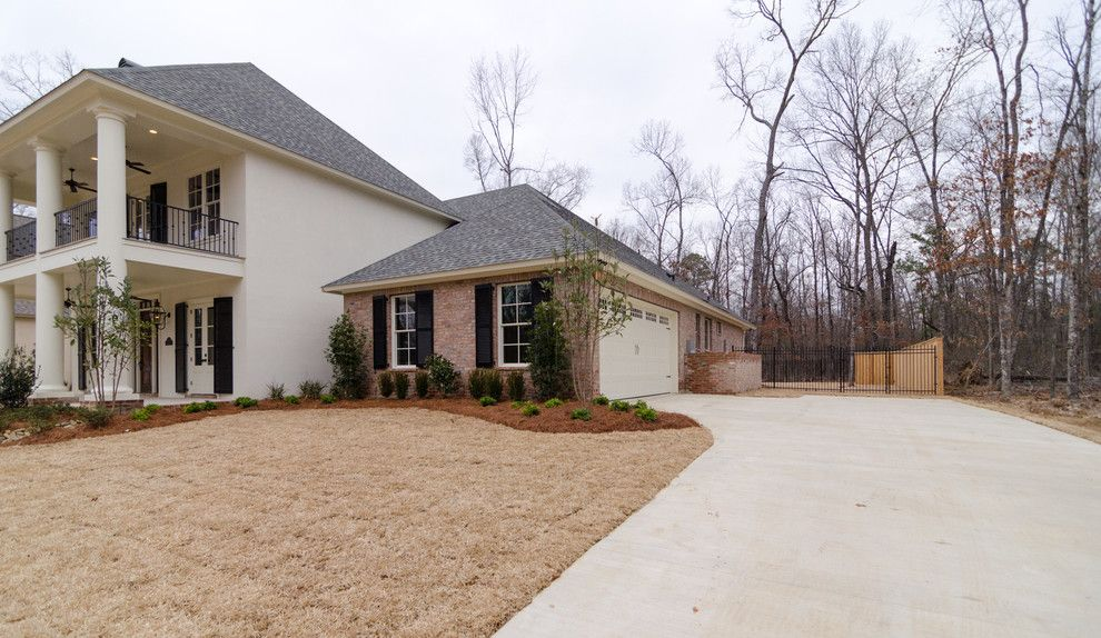 Sun Realty Nc for a Traditional Landscape with a Wood Fence and 2116 Woodsong Lane by Provenance Realty Group