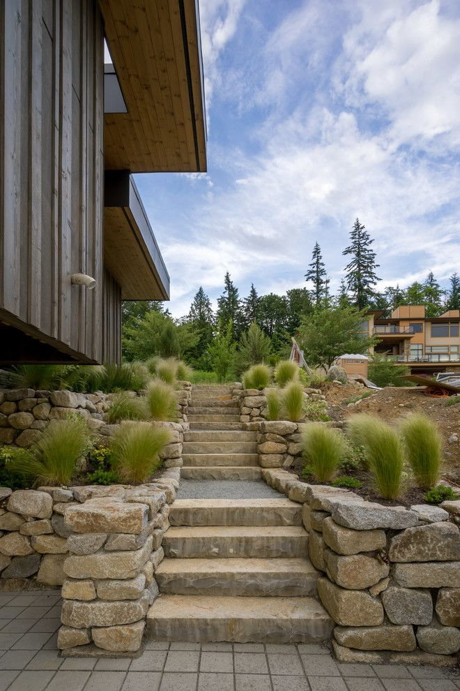 Sun Realty Outer Banks for a Contemporary Landscape with a Hardscape and Ha Ha Hills by Juxtapose Design Build