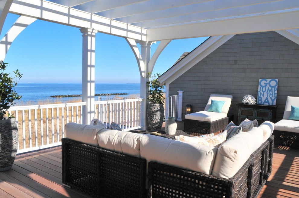 Sun Realty Outer Banks for a Traditional Deck with a Potted Plant and 2012 Tidewater Builder Association