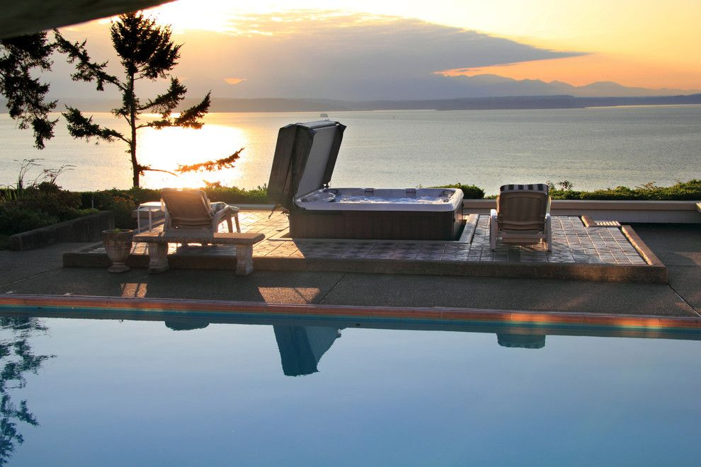 Sundance Seattle for a  Pool with a Pool Products and Hot Tub, Puget Sound by Aqua Quip