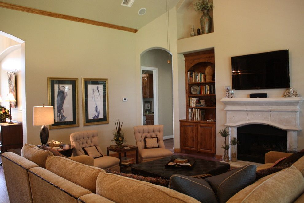 Sunnyvale Rod and Gun for a Traditional Family Room with a Knotty Alder and Gun and Rod by Mill Creek Custom Homes