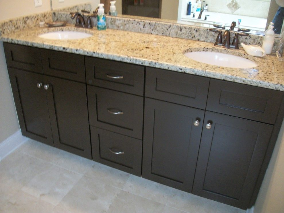 Sunrise Jacksonville Fl for a Modern Bathroom with a Cabinet Refinishing Jacksonville Fl and Cabinet Painting & Kitchen Cabinets Refinishing   Jacksonville, Fl. by Sunrise Painting Services