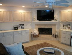 Sunrise Jacksonville Fl for a Modern Family Room with a Cabinet Painting Jacksonville Fl and Cabinet Painting & Kitchen Cabinets Refinishing - Jacksonville, Fl. by SUNRISE PAINTING SERVICES
